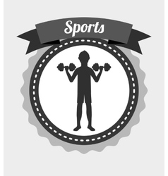 Sport lifestyle vector
