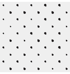 Pattern drops monochrome minimalistic shapes vector