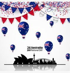 National australia day vector