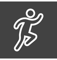 Running Person vector image vector image