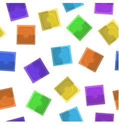 Set of colored condoms vector