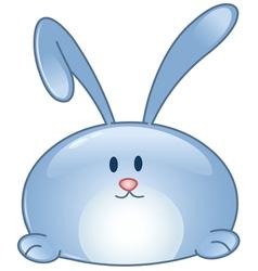 bunny cartoon icon vector image