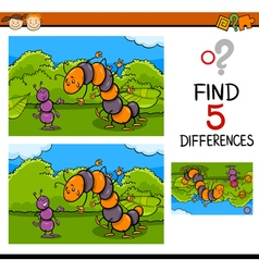 Preschool task of differences vector