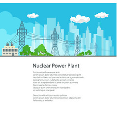 Poster electric power transmission vector