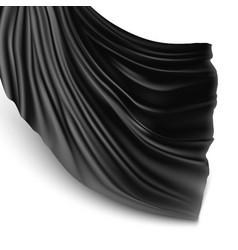 silk cloth vector image