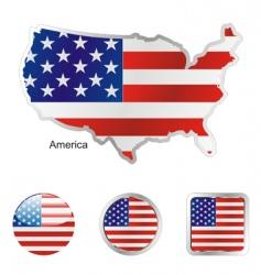 America vector