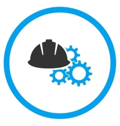 Engineering flat icon vector