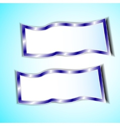 graphic blue background for text and message vector image