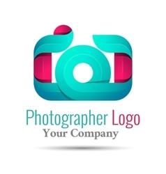 Photography studio photographer photo logo vector