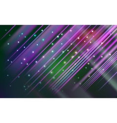 Abstract star frame lights background vector image