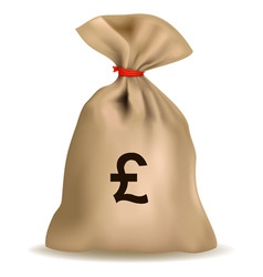 Sack of money vector