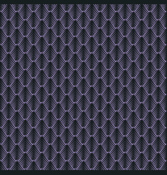 Geometric mosaic pattern from violet triangle vector
