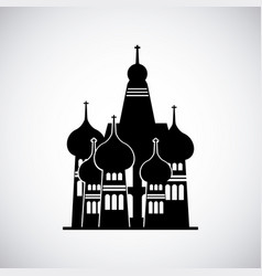 Moscow russia momument vector