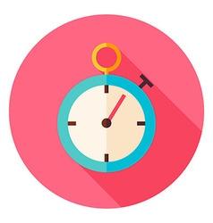 Speedometer Circle Icon vector image vector image