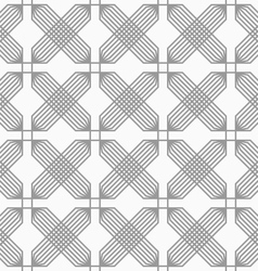 Slim gray hatched rectangles reticulated vector