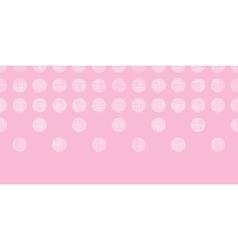 Abstract pink textile dots horizontal seamless vector image