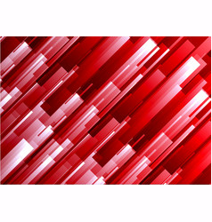 Abstract red geometric square overlap background vector