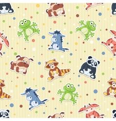 Cartoon pattern vector image