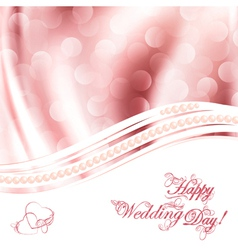 wedding greetings vector image vector image