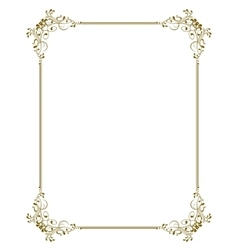 Decorative frame - vector