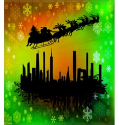 modern christmas vector image
