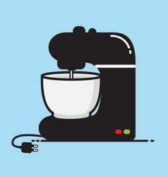 Mixer food vector