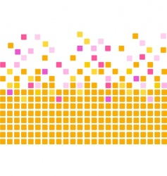 Simple mosaic background vector