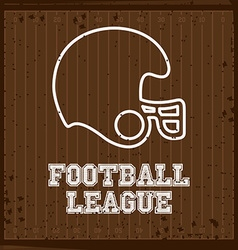 Football design vector