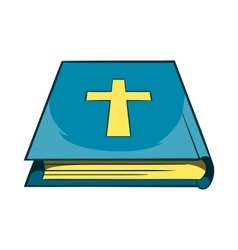Book of the bible icon cartoon style vector