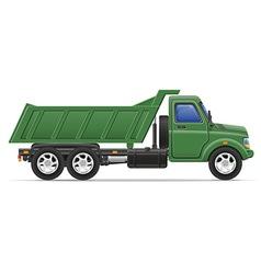 cargo truck 13 vector image vector image