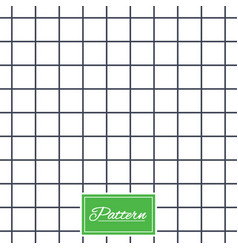 cell grid stripped geometric seamless pattern vector image