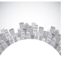 City urban design vector