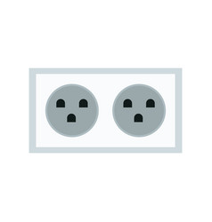 Electric double socket energy power vector