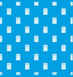 Sertificate pattern seamless blue vector