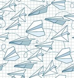 Paper plans vector