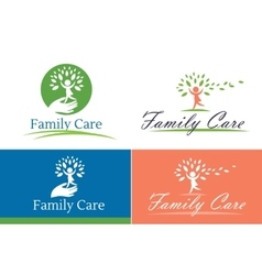 Family child care vector