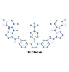 Ombitasvir treatment hcv vector
