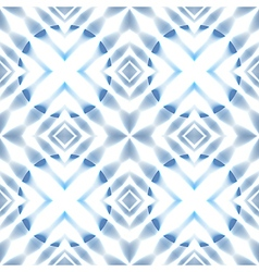 Seamless scandinavian stars blue ice patter vector