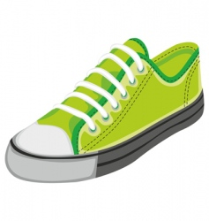 sports shoe vector image