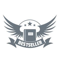 Bestseller logo vintage style vector