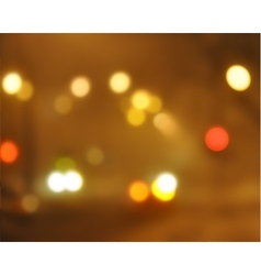 Bokeh lights vector image