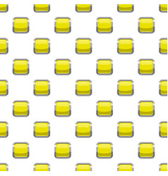 Citron square button pattern vector