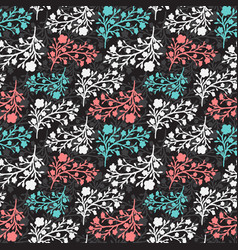 Floral vintage seamless pattern for vector