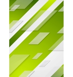 Green tech flyer background vector