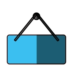 Hanging sign icon image vector