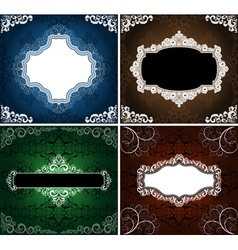 Vintage backgrounds vector