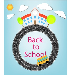 School and back to school vector