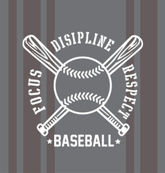 Baseball respect vector