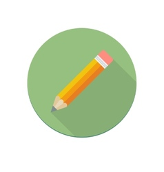 Pencil icon vector image