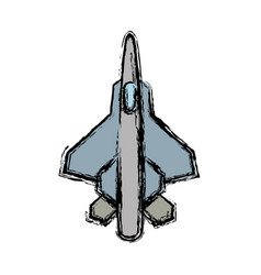 War plane icon vector